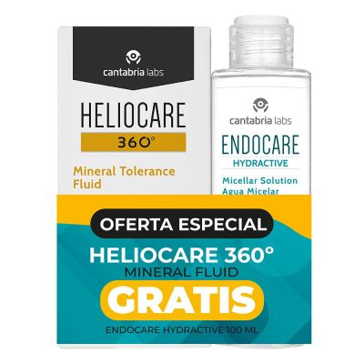 Kit Heliocare Mineral Tolerance + Hydractive X100